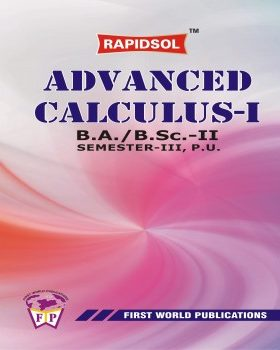 ADVANCED CALCULUS - I (P.U.)