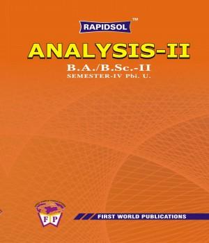 Analysis II (Pbi U)-R