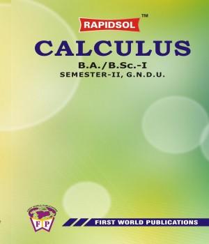 CALCULUS (GNDU)