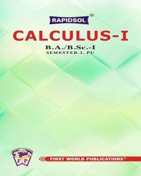 CALCULUS I (P.U.)_R