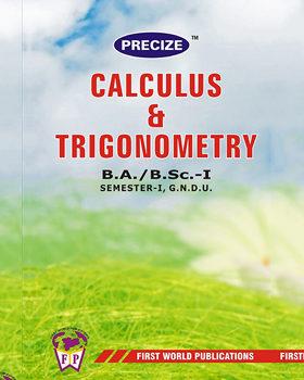 CALCULUS & TRIGONOMETRY