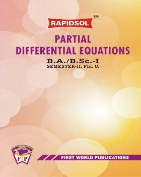 PARTIAL DIFFERENTIAL EQUATIONS (Pbi. U)-R