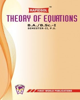 THEORY OF EQUATIONS (P.U.)-R