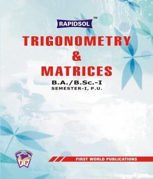 TRIGONOMETRY & MATRICES (P.U.)-R